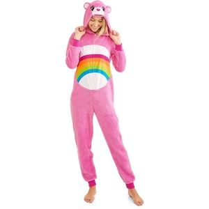 Care Bears Fleece Hooded Onesie Halloween Costume